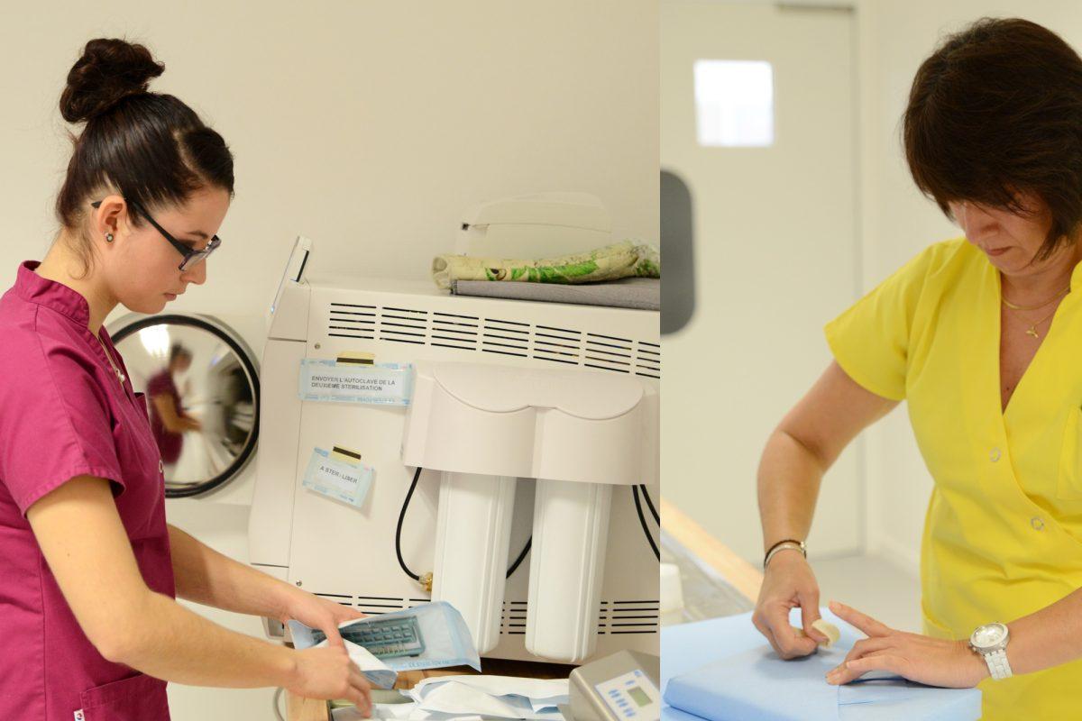 chirurgie dentaire sterilisation